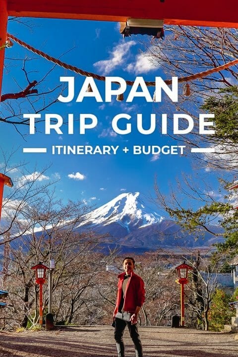 Japan Trip + Itinerary Guide for First-Timers