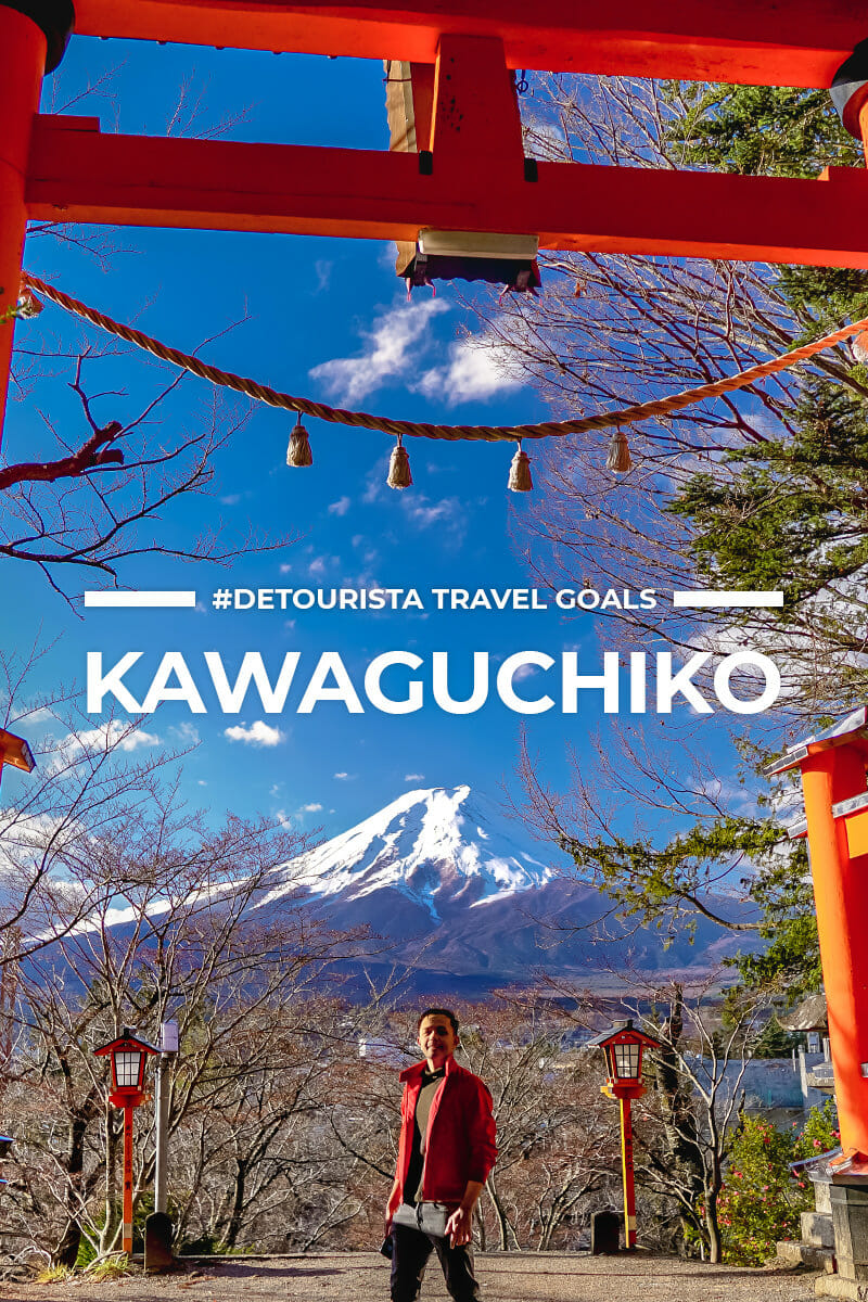 5 Places to Visit in Kawaguchiko and Mt Fuji Lakes + Things To Do