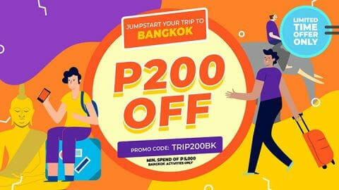 P200 OFF all Bangkok activities – Klook PH