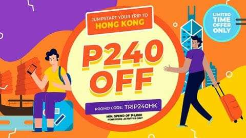 P240 OFF all Hong Kong activities – Klook PH