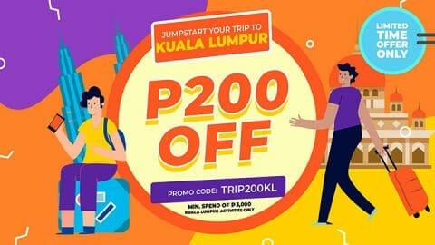 P200 OFF all Kuala Lumpur activities – Klook PH
