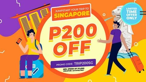 P200 OFF all Singapore activities – Klook PH