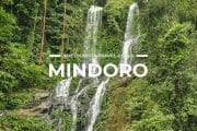 6 Places To Visit in Mindoro