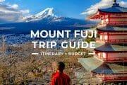 Mount Fuji Travel Guide
