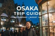 Osaka Travel Guide