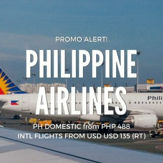 Philippine Airlines Promo for February, March & April 2018 Travel