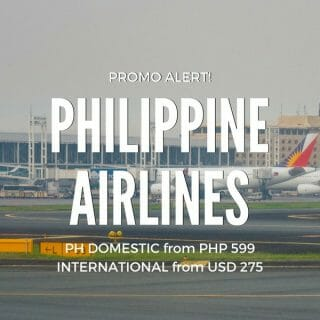 Philippine Airlines Weekend Sale for April, May & June Travel