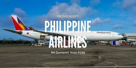 PAL Promo for November & December Travel – Philippine Flights from P299 Base Fare