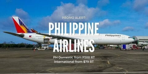 EXTENDED! Philippine Airlines Major Year-end Sale for 2019 Travel. Fares from P299