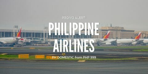 Philippine Airlines P999 Promo on ALL DOMESTIC FLIGHTS