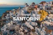 9 Places To Visit in Santorini