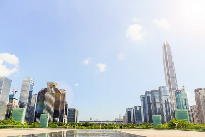 Shenzen City skyline