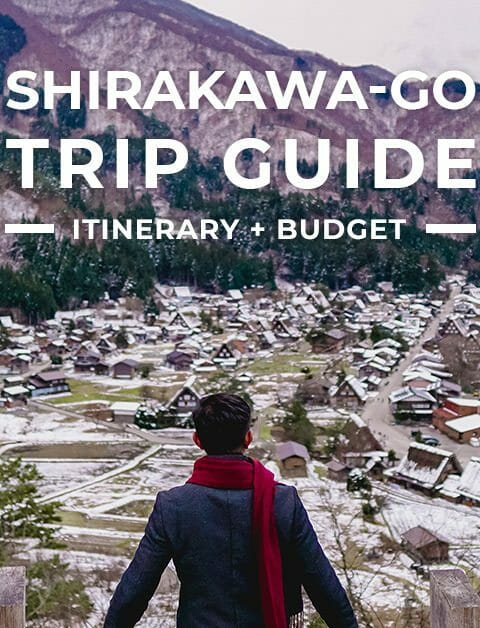 Shirakawa-go Trip + Itinerary Guide for First-Timers