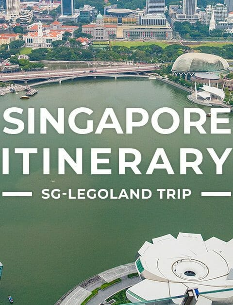 Singapore Itinerary with Legoland Malaysia & Universal Studios Tour for First-Timers