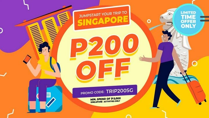 P200 OFF Singapore Tour Package + Tickets Promo Code – Klook PH