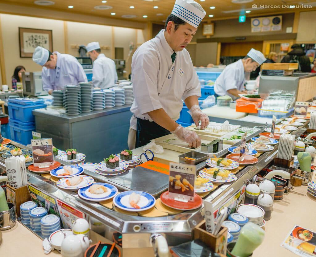 Sushi no Musashi, Kyoto Station