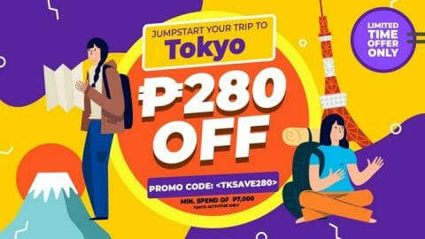 P280 OFF Tokyo Tour Package + Tickets Promo Code – Klook PH